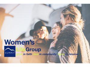 Women's LifeGroup @ Summit Community  | Richmond Hill | Ontario | Canada