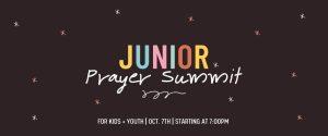 Junior Prayer Summit